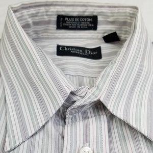Christian Dior Monsieur 16.5 34/35 Long Sleeve